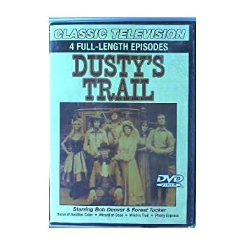 DVD Dusty's Trail (4 episodes) Book