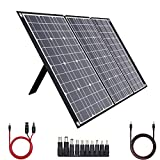 TISHI HERY 100W Portable Solar Charger 18V 12V Foldable Solar Panel for Portable...