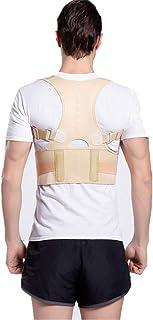 HONGBI Corrector de Postura, Corrector y Soporte para Columna Vertebral,Enderezador de Espalda Transpirable Alivia Dolor en Cuello, Espalda y Hombros