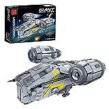 Technic Modelo de nave espacial, 4453 piezas, gran ciencia ficción, súper estrella, maquinilla afeitar, cresta, abrazadera MOC, juego construcción compatible con Lego Static