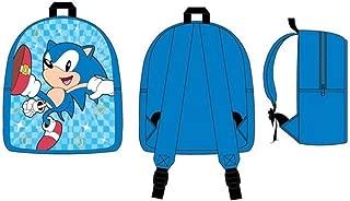 Sega Sonic Action Burst Junior Toddler Mini School Backpack