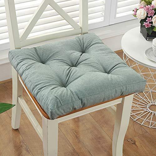 TPJJ Dicke Terrasse Outdoor Sitzpad,Nicht-Slip Relaxer Stuhl Sitzbezug,Komfortable Atmungsaktive Swinger-Sitz-pad L 45x45cm (18x18inch)