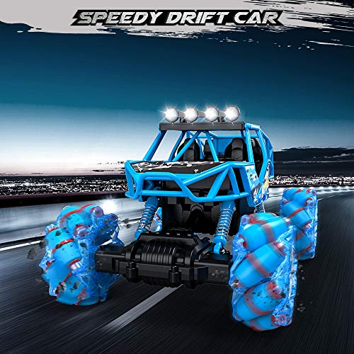 RC Auto kaufen Monstertruck Bild 6: Bfull 4WD RC Car, 1/16 Drift Master Music Buggy 2.4 GHz Remote Control High Speed Racing Vehicle All Terrain Monster Truck for On & Off Road Games, 2 Rechargeable Batteries*