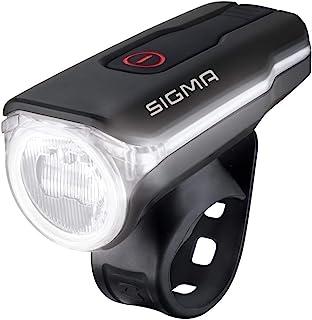 Sigma Aura 60 USB Faro Delantero, Deportes al Aire Libre, Ciclismo,Gafas,Accesorios, Negro, Talla Única