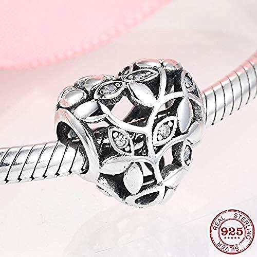 Zilveren Kralen Bedels,925 Sterling Zilveren Hartkralen Voor Het Maken Van Sieraden Fit Pandora Armband Charms Fashion