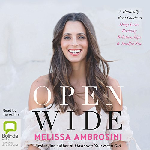 Open Wide audiobook cover art