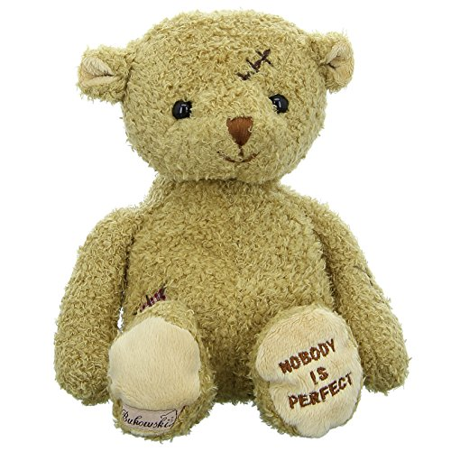 Bukowski Teddybär Nobodys Perfect, Hellbraun
