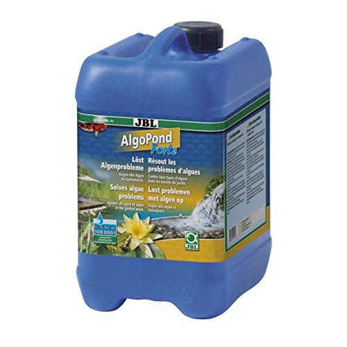 JBL AlgoPond Forte 27408 Wasseraufbereiter gegen alle Algen im Gartenteich, 5 l