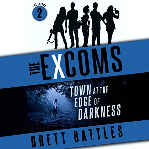 Town at the Edge of Darkness audiobook cover art