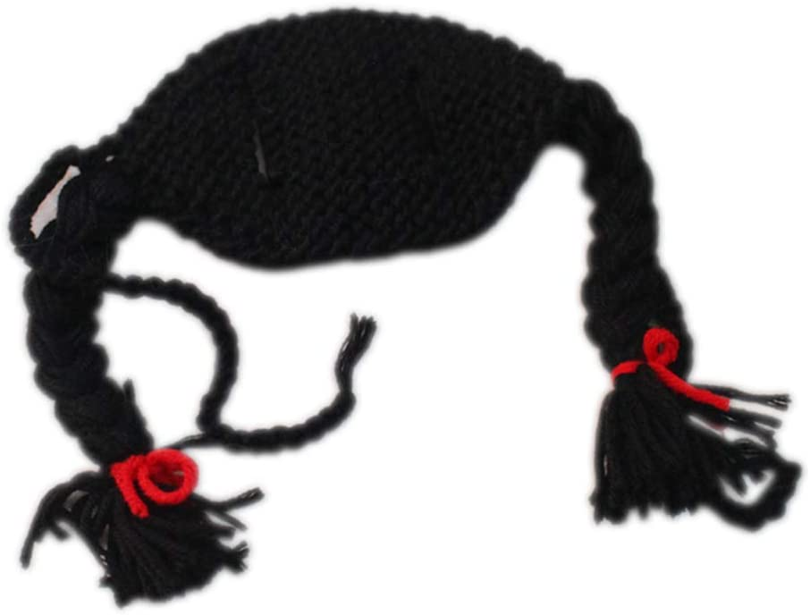 35% OFF Low price JIE. WEIMEIPet Christmas Accessories-Cat Wig Cap Pet Braid