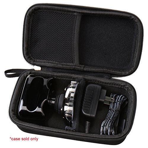Aproca Hard Travel Case Compatible with Skull Shaver Pitbull Gold Shaver (Black-New)