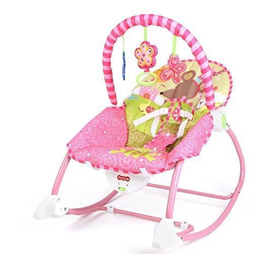 Best For Kids L8437 Schaukelsitz Wunderwelt 3-in-1 mit Massagefunktion und Musikfunktion