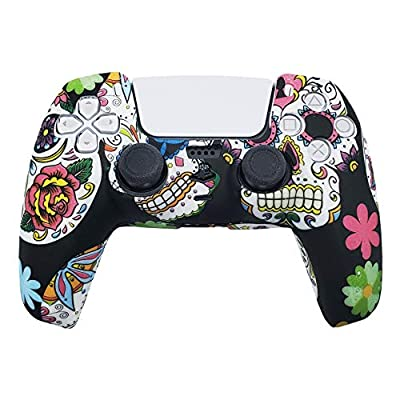 PS5 Silicone Gel Grip Controller Cover Skin Protector (Art) Compatible for Sony PlayStation 5, Compatible for PlayStation 5 Accessories, Wireless Controller Protector Covers, PS5 Skin