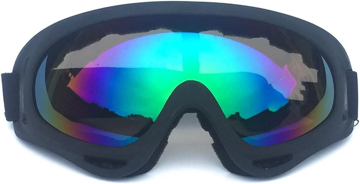 Wzdszuilhxj Gafas Ski, Gafas Gafas Fuera de la Carretera Gafas de Motocicletas Gafas de esquí Gafas Hombres y Mujeres Gafas Protectoras (Color : C)