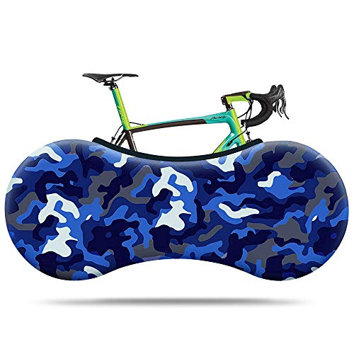 TOMALL Indoor Mountain Bike Cover Bicycle Storage Cover, Bike Wheel Cover Bike Travel Protection Cover Suitable for Tires of 26-28 Inches MTB and Road Bike