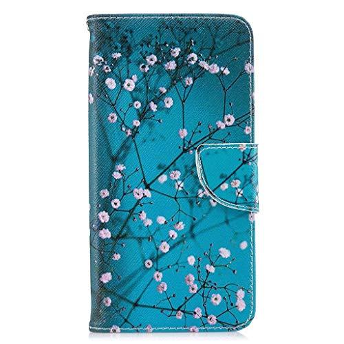 Veapero Kompatibel für Hülle Sony Xperia L4 Handyhülle Hülle Hülle Wallet Tasche Soft TPU Innere Schutzhülle Schale Ständer Kartenfach Magnetverschluss Brieftasche,Kapok