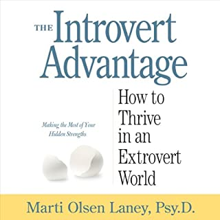 The Introvert Advantage audiobook cover art