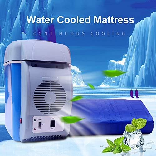 Roboraty Koelwatermatras/ijsmatras, airconditioning ventilator - voor thuis, slaapzaal, apartment en hostel, koel in de zomer (één- / dubbele kamer)