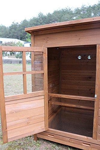 """Hühnerstall Hühnerhaus Chickenhouse Nr. 07 """"Gockelstolz"""" mit Eierbox und Freilauf - 6"""