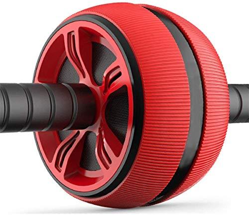ABS Roller Esercizio Roller Wheel Torna RollerABS Addominale Rullo, Ruota for criceti Fitness Equipment Mute Rullo for Arms Torna Belly Nucleo Trainer, for Esercizi Addominali Uomini e Donne,