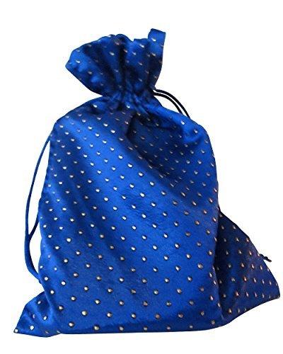 Tarot Bags: Blue 6 X 9 Satin Pearl by Paper Mart