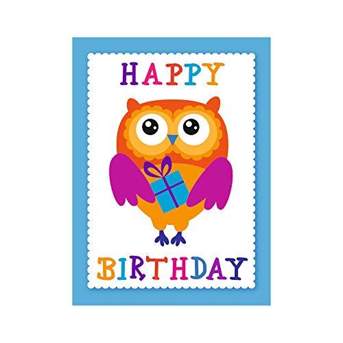 Susy Card 40021409 Grußkarte Mini Geburtstag, Motiv:
