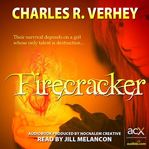 Firecracker audiobook cover art