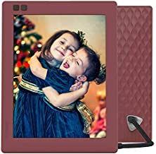 Nixplay Seed 8 Inch WiFi Digital Photo Frame Mulberry - Share Moments Instantly via App or E-Mail