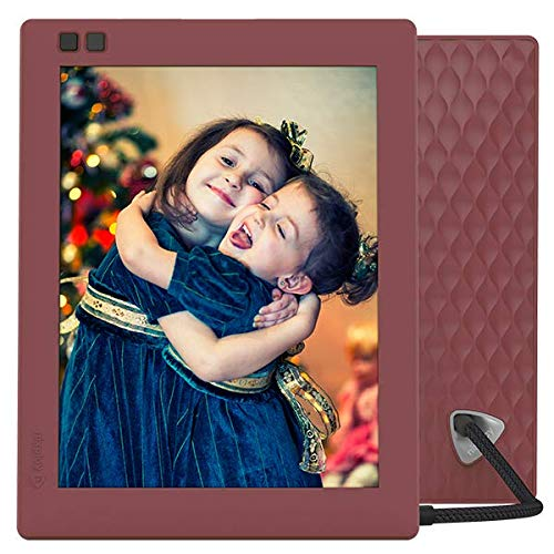 Nixplay Seed 8 Inch WiFi Digital Picture Frame Mulberry - Share Moments via App or E-Mail Digital Frames Picture