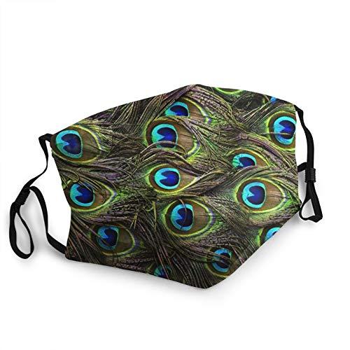 UV-Gesichtsmaske, Pfauenfedern, Sonnenmaske, Motorrad-Kopfbedeckung, magischer Schal, zum Angeln, Jagen, Laufen, Skifahren