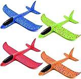 Erlliyeu Segelflugzeug , 4 Farben (4pack)