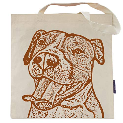 Buttercup the Pit Bull Tote Bag - by Pet Studio Art