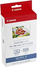 Canon KC-18IF Ink Label Set, Compatiable to CP740,CP730,CP720,CP710,CP600,CP510 and CP400