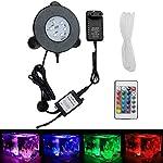 GreenSun-LED-Lighting-Aquarium-Licht-3W-Unterwasserlicht-6-Leds-Unterwasserleuchte-RGB-Spot-Lampe-Aquarium-LED-Beleuchtung-Aquariumbeleuchtung