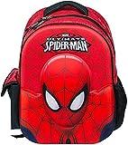 Marvel - Mochila infantil Spiderman con asa para la escuela