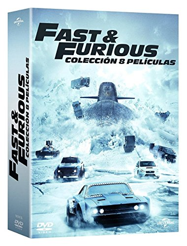 Pack: Fast & Furious (1-8) DVD