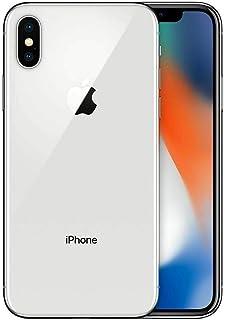 موبايل ايفون XS بتطبيق فيس تايم من ابل - 256 جيجابايت، 4G LTE، ذاكرة رام 4 جيجابايت، شريحة اتصال واحدة وشريحة مدمجة، فضي