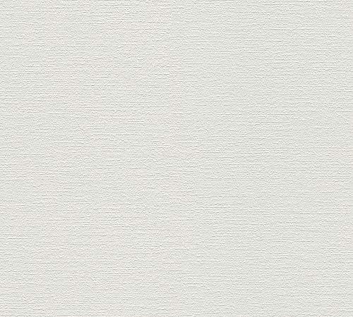 A.S. Création Vliestapete Meistervlies Pro Protect 2, mehrfach überstreichbar, rissüberbrückend, formstabil, glasfaserfrei, weiß, 103918 - 2