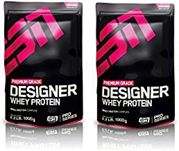ESN Designer Whey Protein 2 x 1000g Beutel - Strawberry White Chocolate