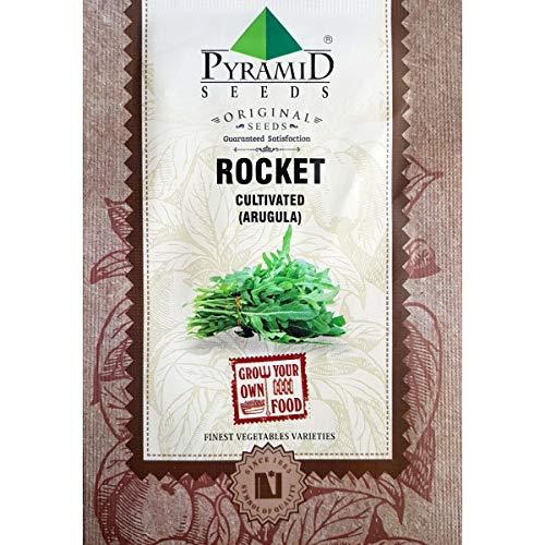 Pyramid Rocket Arugula Herb Seeds