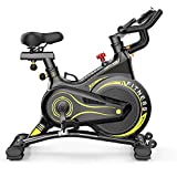 Professionale Cyclette, Cyclette Verticale, Spinning Bike Coperta, Spin Bike Ultra Silenzioso, Stare A Casa Cyclette Fitness Equipment Gym, 120X106x60cm
