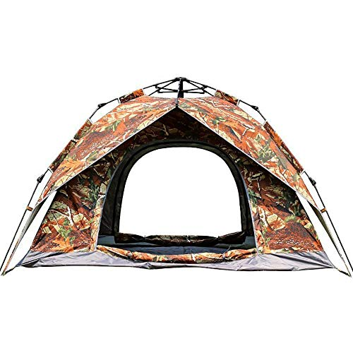 Zhengowen Tent Automatic Camping Outdoor Pop-up Tent For Waterproof Quick-Opening Tents Outdoor Dome Tent (Color : Multi-colored)