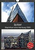 Spitze! Elbphilharmonie Hamburg 2020 (Wandkalender 2020 DIN A4 hoch)
