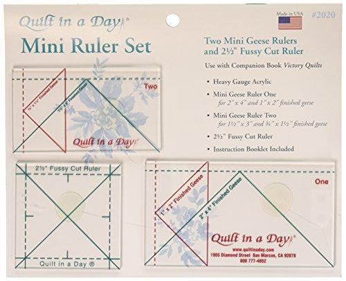 Quilt in a Day Courtepointe en Un Jour Règle 3 pièces