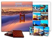 面白いサンフランシスコ市の食べ物の贈り物⌘「サンフランシスコシティ」⌘素敵なSFチョコレートセット! (ブリッジ)