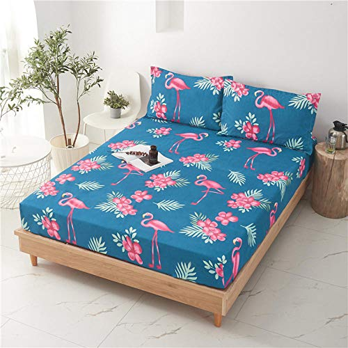 HPPSLT Sábana Ajustable súper Suave, cálida y acogedora La sábana es a Prueba de Polvo y espesa-12_90 * 200 + 25cm