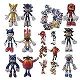 Figura de Sonic Mini figura de regalo de Sonic The Hedgehog...