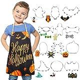 Moldes Galletas Halloween con Disfraz Cocinero Niños para 3 -7 Años, Formas Variadas Cortapastas Kit de Cocina para Infantil Halloween y Fiesta de Cumpleaños
