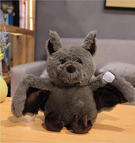 ADIE Plüschtier Cartoon Bat gefüllt Spielzeug, weiche Fledermaus Puppe, schlafende Spielzeug für Babys, Kinder, Mädchen, lustige Geburtstagsgeschenk, 24cm Dekoration