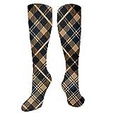Nicegift Scottish Tartan Prade Argyll Pattern Desodorante Medias y calcetines antideslizantes Estilos deportivos y de ocio para hombres y mujeres